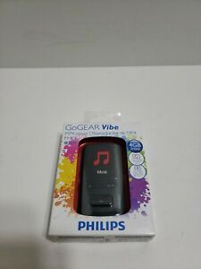 Philips GoGear Vibe MP4 Music Video Player 4 GB Brand New Sealed Black