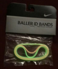 Nike Vintage 2005 Baller id Bands Bracelets GLOW IN THE DARK 3 Pack New Unopened