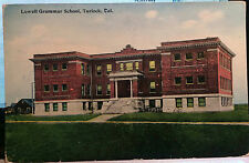 TURLOCK CALIFORNIA, Post Card 1905-15 SCHOOL, Stanislaus County