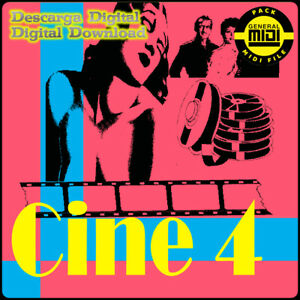 CINE 4 - Pack 8 Midi Files. Descarga Digital. Escucha Demos. General Midi