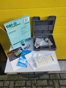 Sony ICF-SW55 Portable World Band Shortwave Radio Receiver AM/FM BOX ONLY