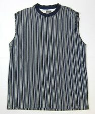 VTG 90s Guess Striped Shirt XL Jeans USA Made ASAP Grunge Classic Sleeveless