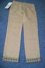 Eddie Pen-beige trousers.6y.Cotton.BNWT.RRP 69£