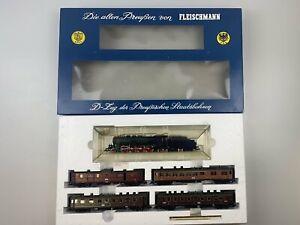 """Fleischmann H0 4885 D-Zug """"Die alten Preußen"""" K.P.E.V./P.St.B. Gleichstrom"""