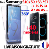 COQUE PROTECTION 360 INTÉGRALE SAMSUNG S10 S9 S8 J6 J4 SHOCKPROOF FULL COVER