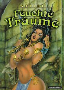 Comic Feuchte Träume für Erwachsene von Azpiri Hardcover