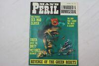 Man's Peril Sept 1966 Adventure MagazineNazi Horror Tortures Bondage Story