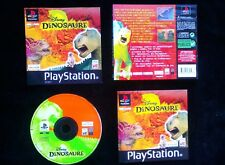 JEU Sony PLAYSTATION PS1 PS2 : DISNEY DINOSAURE (enfants COMPLET envoi suivi)
