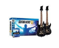 Guitar Hero Live: Double Guitar & a Game Bundle (ps4) NEW & SEALED!!!