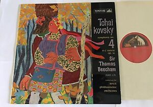 Tchaikovsky Symphony No 4 Sir Thomas Beecham Hmv