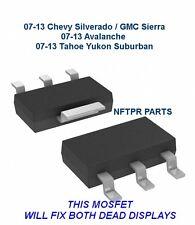 1X LL2705 MOSFET GM Cluster Display Repair Silverado Yukon Tahoe Suburban Sierra