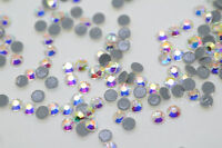 1440 pcs Diamante  Crystal Glass DMC Hotfix Iron On Crystal Rhinestones AB SS16