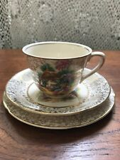 Vintage H & K Tunstall Homestead Chintz Trio Cup Saucer and Plate High Tea