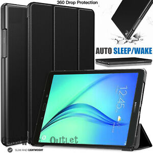 """Leather Magnetic Smart Stand Case Cover For Samsung Galaxy Tab A 9.7"""" T550 T555"""