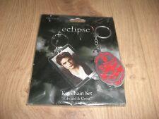 Twilight Eclipse Edward & Crest Schlüsselanhänger Set Keychain Set NECA