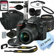 Nikon D3500 Digital SLR Camera Black + 18-55mm VR Lens + 32GB Bundle + More