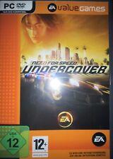 Need for Speed Undercover - PC Spiel. EA Value Games, Autorennen, neuwertig, NFS