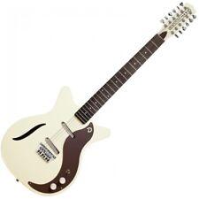 Danelectro Dano'59 Vintage 12 Cuerdas Guitarra Eléctrica Vintage Blanca DC59VW-12
