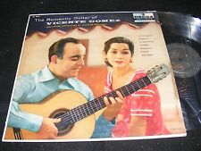 The Romantic Guitar of Vicente Gomez DECCA 1950s Exotic Displayable Cover LP!