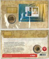 2011 QUEEN'S 85th BIRTHDAY PNC AUSTRALIA $1 COIN  - PERFECT in PROTECTIVE COVER