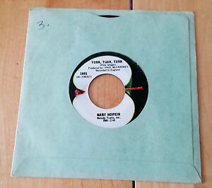 "Mary Hopkin 'Those were the days' Produced by Paul McCartney 7"" vinyl 45RPM"