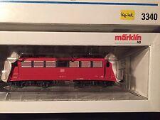 Märklin H0 Nr. 3340 , E-Lok 110, der DB umgebaut digital HLA, OVP- lesen