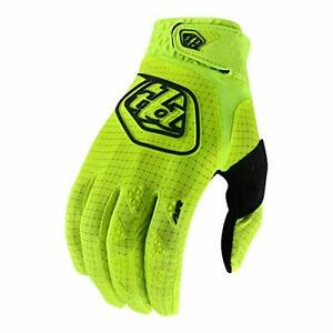 Troy Lee Designs Full Finger AIR GLOVE; FLO YELLOW 2X