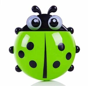 Ladybird Animal Insect Toothbrush/Toothpaste  Wall Suction Holder  Kids Cartoon