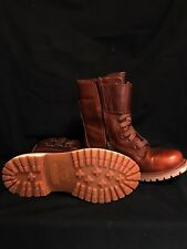 NEW TIMBERLAND  MID LACE UP LEATHER BOOTS WOMENS