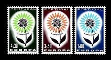 PORTUGAL - PORTOGALLO - 1964 - Europa. Fiore con 22 petali. Serie completa 3 val