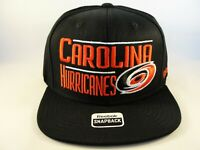 Carolina Hurricanes NHL Reebok Snapback Hat Cap Black