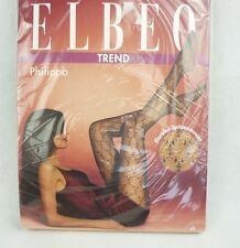 Elbeo Trend Strumpfhose Philippa Rosenholz mit Spitzenmuster 20den Größe 40-42