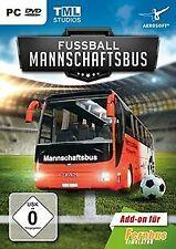 Fernbus Simulator - AddOn Fußball Mannschaftsbus - [PC] ...   Game   Zustand gut