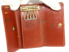 100% Auth Louis Vuitton Multicles 4 Hooks Key Case Epi Leather Made Spain CA0957