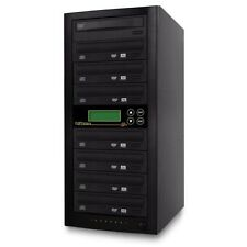 CD Dvd Disc Duplicator Copystars 1-7 Liteon/Asus 24x Duplication Tower SATA DL