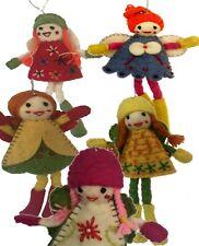 5 pcs Cute Fairy ORNAMENTS FOR CHRISTMAS TREE, children room decor,kids bedroom