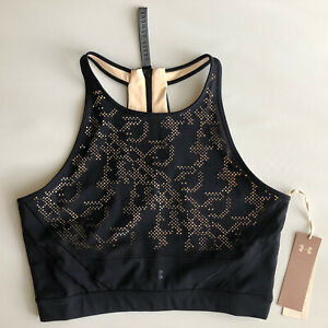 Under Armour Women's UA Misty Signature Collection Lace Sport Crop Top Sz XL