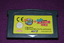 BOB L'EPONGE : LE FILM + LA PHOTO EN DELIRE - THQ - Jeu Action Game Boy GBA EUR
