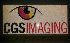 """Authentic ARCA Remax Series - CGS Imaging - Reflective Decal/Sticker - 8""""×3.5"""""""