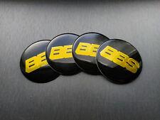 4x 60mm BBS Sticker Stickers Decal Badge For Center Caps Hub Cap Wheel Rim Car