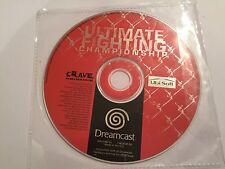 ULTIMATE FIGHTING CHAMPIONSHIP  SEGA DREAMCAST FIGHT GAME CD DISC ONLY UK/EU PAL