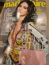 MARIE CLAIRE MAGAZINE JAN JANUARY 2016 LILY JAMES NEXT BIG THING ISSUE BRAND NEW