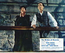 Yvonne Monlaur and Peter Cushing UNSIGNED photo - H7841 - The Brides of Dracula