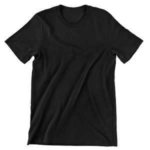 Womens Summer Softstyle T-Shirt Plain Blank Ringspun Cotton Unisex Oversized Top