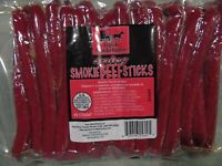 Amish Smokehouse Beef Sticks 50ct Bulk, Spicy