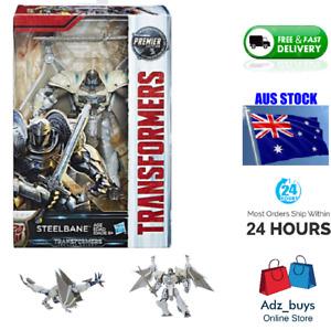 Hasbro TRANFORMERS The Last Knight PREMIER EDITION STEELBANE BNIB collect