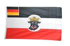 Bandiera Deutsches Reich seedienstflagge Meclemburgo-Schwerin 1923-1933 bandiera Deut