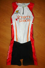Safety Miami Pace Women's Sleeveless Compression Triathlon Tri Skinsuit Size S