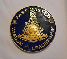Masonic -  Past Masters Car Emblem  (PSC012) *