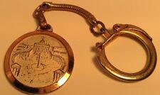 Vintage Keychain ~~ + PAULUS VI PONT MAX + ~~ Ancien Porte-Clés MEDAILION